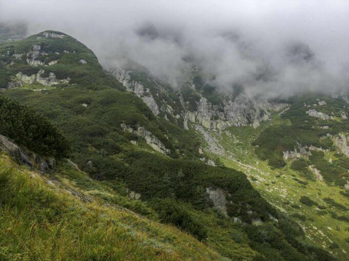 Widok z Doliny Pięciu Stawów