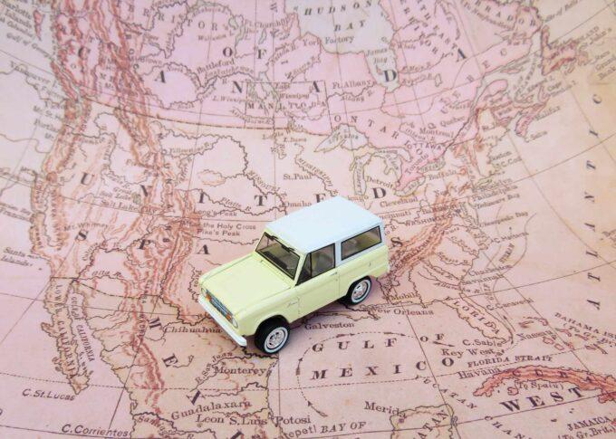 mapa i samochodzik