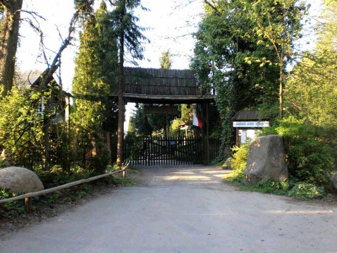 ogród botaniczny Gołubie