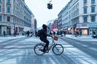 Rower na zimę, nie zapomnij o oświetleniu