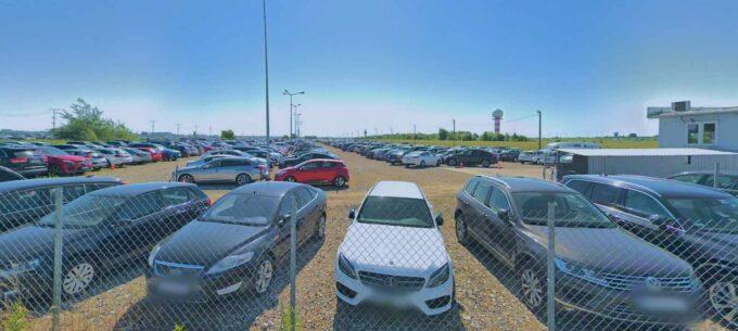 parking lotnisko